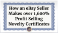 ebay-seller-novelty-certificates