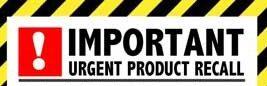 urgent-product-recall